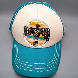 Southwestern Tribal Eagle Billabong Trucker Hat